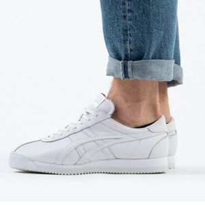 Onitsuka Tiger Corsair White Leather Sneaker New